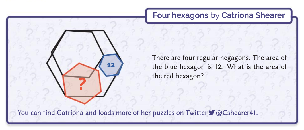 Four Hexagons by Catriona Shearer